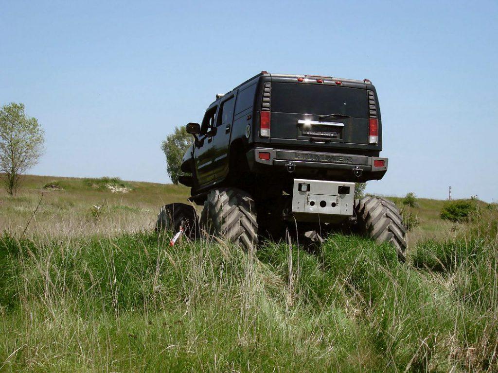 Zážitková jízda v Big Hummer