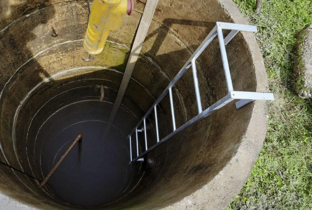 Čištění studní