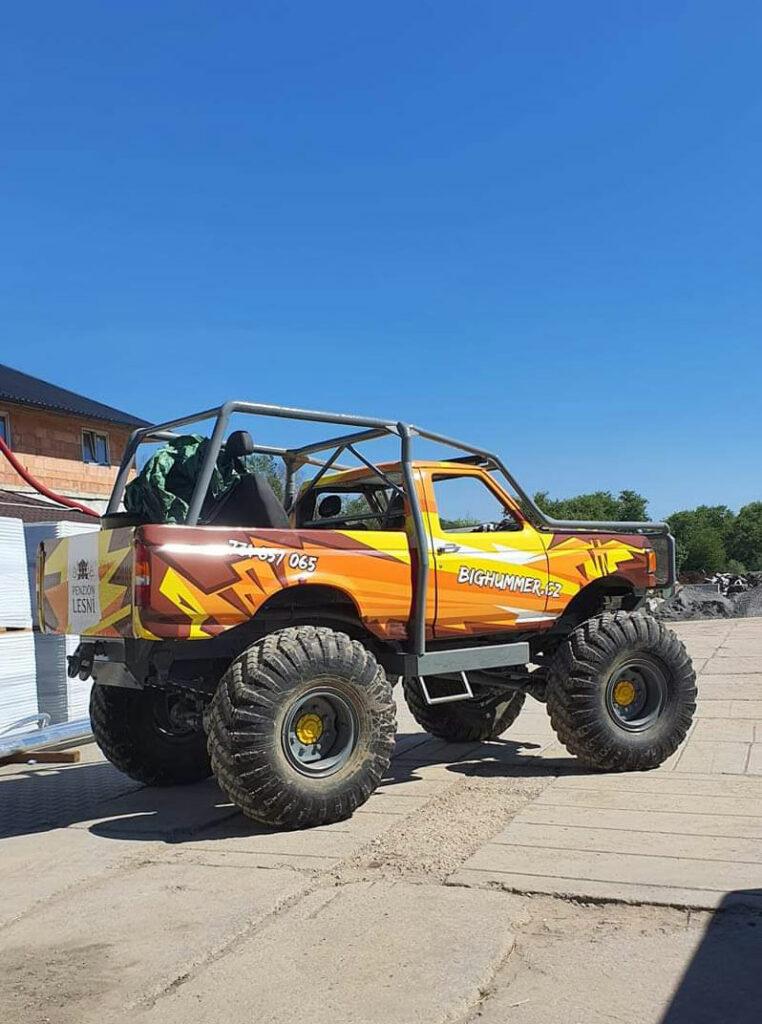 Zážitková jízda v trucktrial speciálu