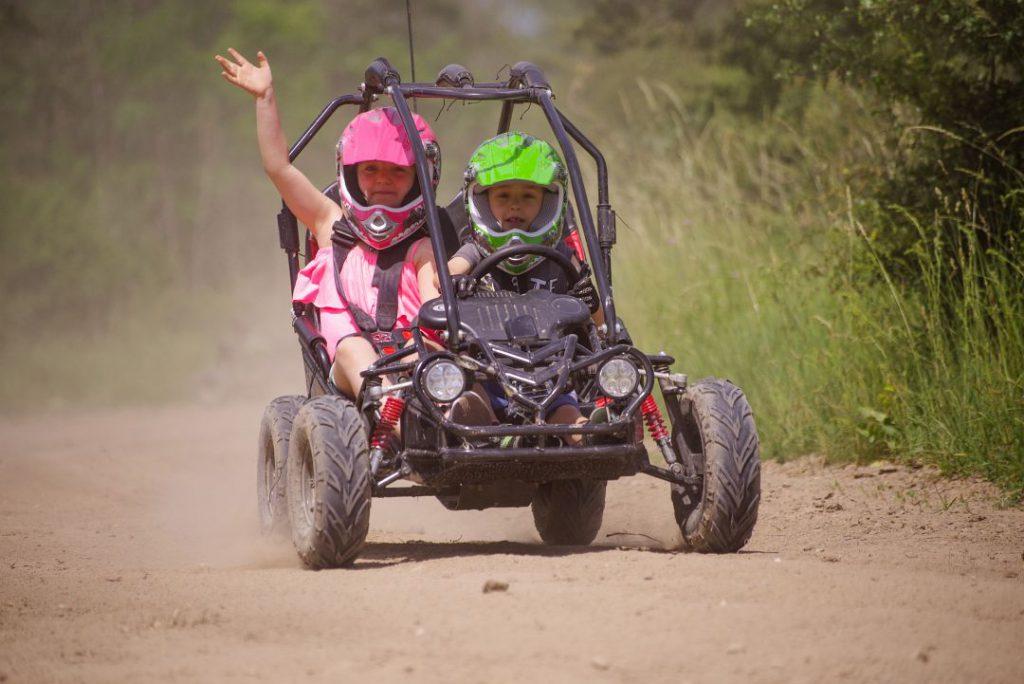 Zážitková jízda v bugině pro děti